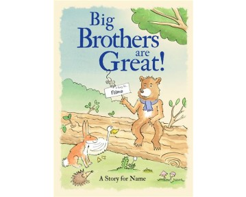 Personalised Big Brothers are Great - Softback