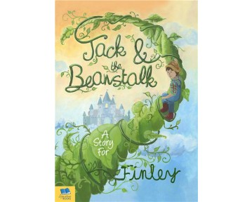 Personalised Jack and the Beanstalk Softback Book