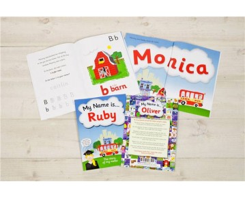 Personalised My Name Is Softback Book
