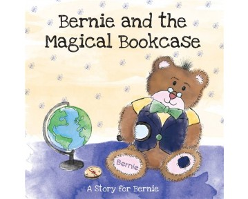Personalised The Magical Bookcase Hardback Book