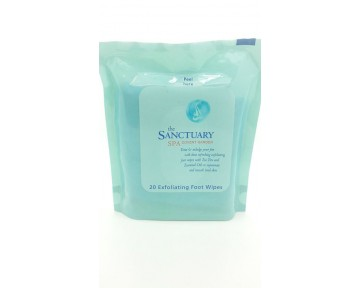 The Sanctuary Spa Exfoliating Foot Wipes