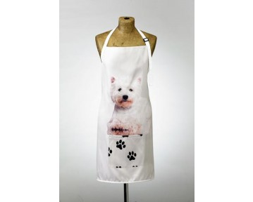 Adorable Westie Design Apron