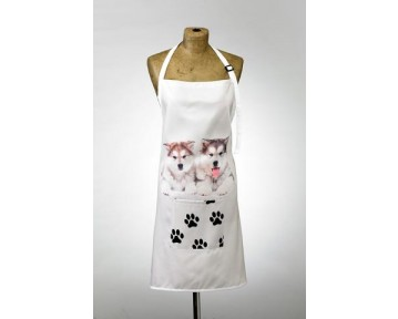 Adorable Malamute Design Apron