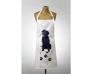 Adorable Black Labrador Apron