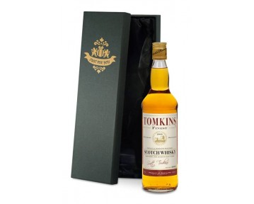 Blended Whisky with Retirement Gifts Label in a premium Silk Lined Box