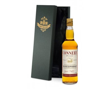 Blended Whisky with Birthday Gift Label in a premium Silk Lined Box
