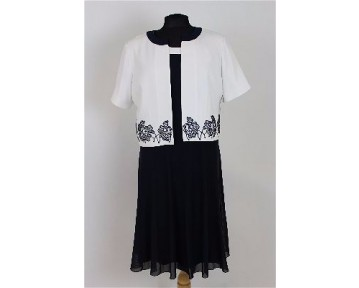 Personal Choice Navy White dress