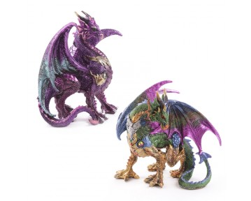 Warrior Dark Legends Dragon Figurine