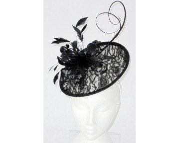 Black and White Lace hatintor
