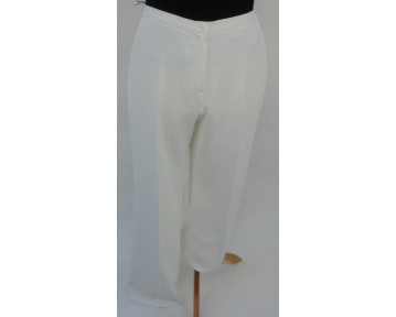 Personal Choice Smart off  White Trousers