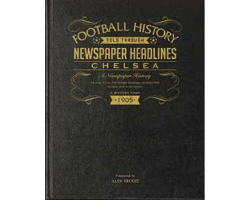 Black Leather Football Books (Choose from over 60 teams)