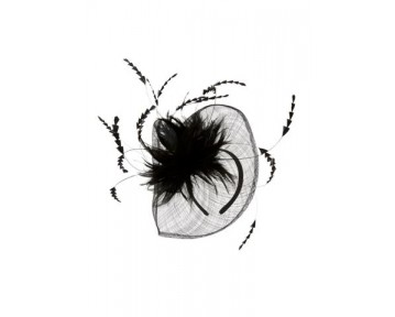 Mascara Hatinator with feathers