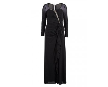 Gina Bacconi Black Evening Dress
