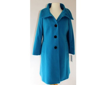 Personal Choice Blue Wool Coat