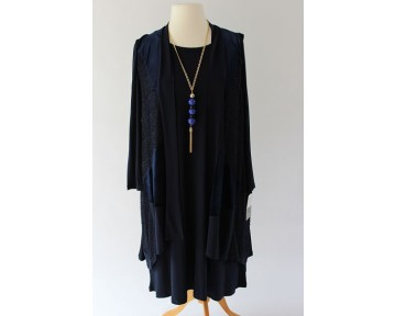 Personal Choice Navy Dress and Jacket
