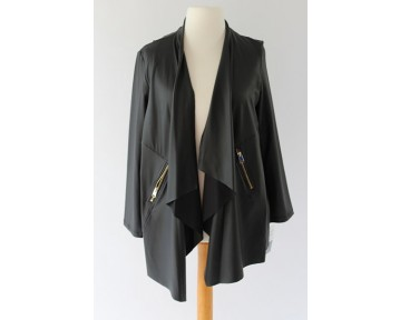 Personal Choice Mock Leather jacket