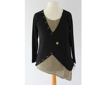 Personal Choice Gold Trim Top