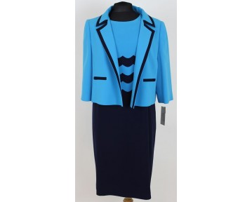 Personal Choice Scalloped dress and jacket