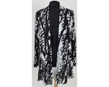 Personal Choice Black and White Jacket