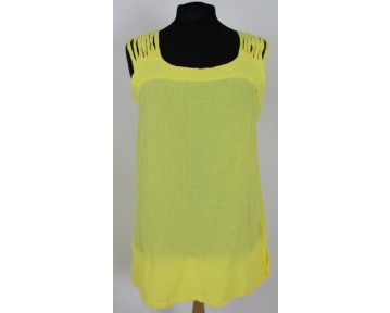 One Life Yellow Summer Top