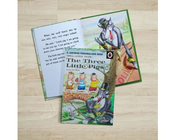 The Three Little Pigs: A Ladybird Personaised Book