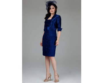 Mascara Navy Lace Wedding outfit