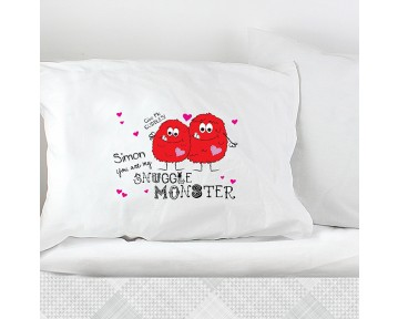 Personalised Snuggle Monster Pillowcase