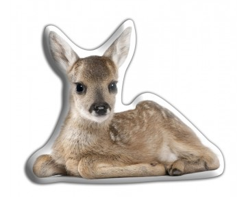 Fawn Shaped Cushion