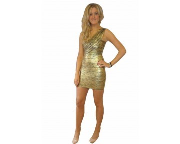 McBerry gold party dress