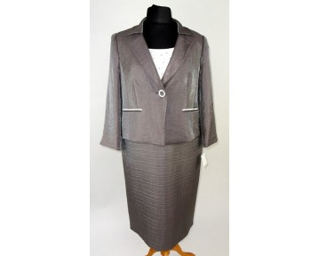 Personal Choice Mink wedding outfit