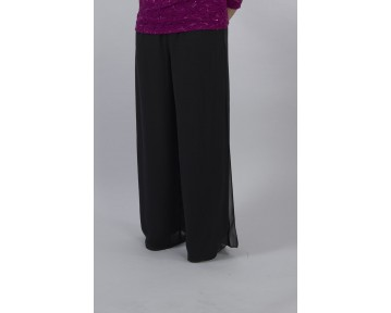 Gina Bacconi Palazzo trousers available in plus sizes